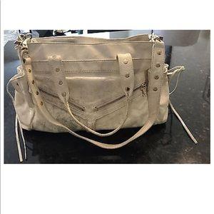 Botkier Bags - White Leather Botkier Clyde Trigger Shoulder Bag 7a1074d26bda5
